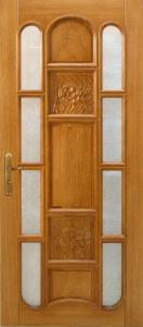 drzwi drewniane zewnetrzne rzezbione