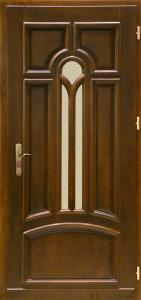 drzwi drewniane zewnetrzne