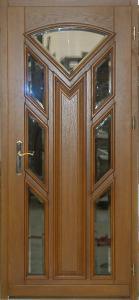 Drzwi drewniane zewnętrzne standard